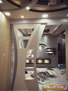 احدث ديكورات شاشات بلازما جبس بورد بجده 2019 In 2020 Ceiling Design Modern Single Floor House Design Ceiling Design Living Room