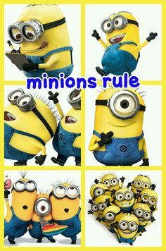 Aahhh. minions....I love these fellas!!