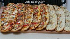 Ellenállhatatlan FOCACCIA: Matyi Éva konyhájából   Mennyei Tipp Quesadilla, Feta, Tart, Pizza, Sausage, French Toast, Sandwiches, Bread, Breakfast