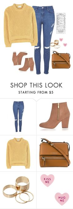 """""""Untitled #468"""" by ksenia1ksu ❤ liked on Polyvore featuring Topshop, River Island, Acne Studios, Givenchy, Call it SPRING and Betsey Johnson"""