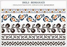Semne Cusute: OLTENIA - motive traditionale romanesti; Dolj - Romanati