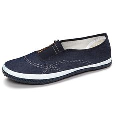 Sale 26% (17.91$) - Casual Soft Sole Slip On Round Toe Breathable Flat Loafers