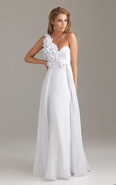 Elegant One-Shoulder Chiffon Floor-Length Prom Dress Jes21$0,normal price is $123.18