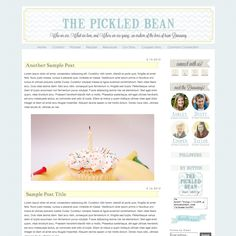 Smitten blog designs -- the pickled bean