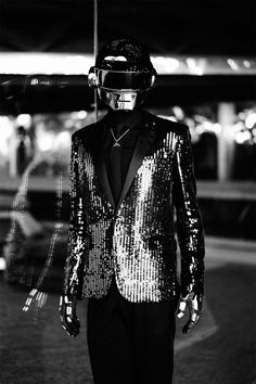 Daft Punk x Milla Jovovich for CR Fashion Book Daft Punk, Leather Men, Leather Pants, Vito, Punk Art, Punk Fashion, Disco Fashion, Fashion Tape, Moda Masculina