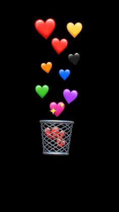 Emojis❤️ - My Wallpaper Emoji Wallpaper Iphone, Simpson Wallpaper Iphone, Cute Emoji Wallpaper, Sad Wallpaper, Heart Wallpaper, Cute Wallpaper Backgrounds, Tumblr Wallpaper, Wallpaper Pictures, Aesthetic Iphone Wallpaper