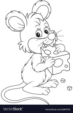 Cute Coloring Pages, Cartoon Coloring Pages, Free Printable Coloring Pages, Coloring Sheets, Coloring Books, Animal Coloring Pages, Animal Drawings, Cute Drawings, Cartoon Pencil Sketches