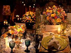 Decoração de casamento colorida - Pesquisa Google