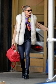 Olivia Palermo Out and about, in Brooklin, November 2013