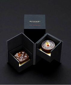 Bvlgari St Valentine's Day Chocolate. Cool Packaging, Luxury Packaging, Paper Packaging, Beverage Packaging, Coffee Packaging, Bottle Packaging, Jewelry Packaging, Design Packaging, Luxury Chocolate