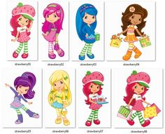 Worksheet. Strawberry Shortcake Free Printable Mini Kit  strawberry