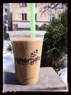 Black Hazelnut Coffee Milk Tea