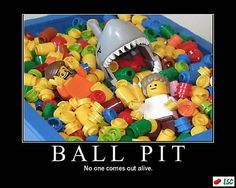 Ball Pit, the safest place for your children at the mall.....