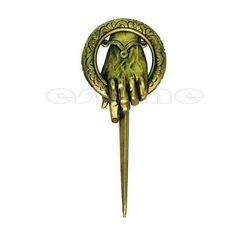 Vintage Lapel Game of thrones hand of the king