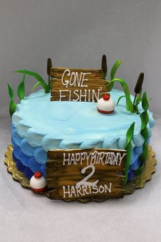 Gone Fishing: Birthday Cake 🎣