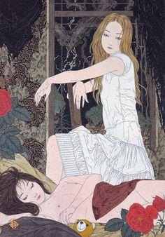 Artist of the Month: Takato Yamamoto Japan Illustration, Yamamoto, Anime Amino, Japan Art, Japanese Artists, Akita, Erotic Art, Art Inspo, Illustrators