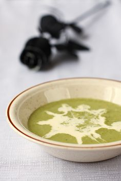 Witches Broth (or Pea and Mint Soup)