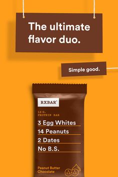 How do you make chocolate and peanut butter an even better combination? Pair them with real, simple core ingredients like egg whites, peanuts, and dates. For a quick protein snack, breakfast bar…More Chocolate Chip Cookies, Chocolate Peanut Butter, Chocolate Shake, Delicious Chocolate, Chocolate Ganache, White Chocolate, Protein Snacks, Healthy Snacks, High Protein