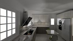 Why it's important to have a 3D design of your new kitchen - Sanctuary Kitchens
