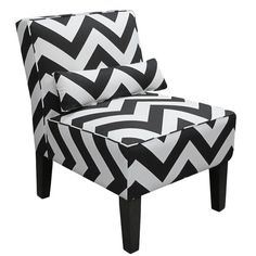 I pinned this Chevron Accent Chair from the Tiffany Richey event at Joss and Main!