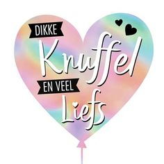 Kaarten - liefde - love you Birthday Wishes, Birthday Cards, Happy Birthday, Love Wishes, Good Morning Texts, Dutch Quotes, Love Hug, Little Pigs, Cheer Up