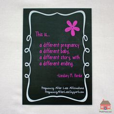 """""""This is…"""" quote by Lindsey M. Henke from the PregnancyAfterLossSupport.com Original Pregnancy After Loss Affirmations line by Valerie Meek #PregnancyAfterLossAffirmation #PALAffirmation"""