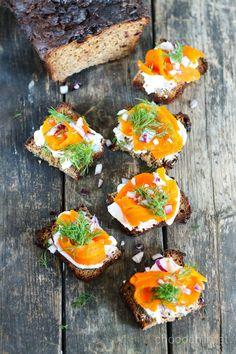 porkkanalohi Vegan Vegetarian, Vegetarian Recipes, Cooking Recipes, Vegan Food, Healthy Food, Vegan Finger Foods, Healthy Gluten Free Recipes, Vegan Christmas, Tapas
