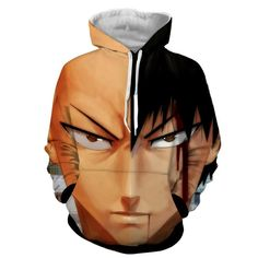 Old & New Saitama One Punch Man Hoodie