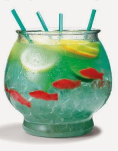 The Girl Who Eats Everything: Non Alcoholic Fish Bowl