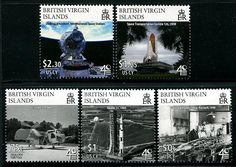 Virgin Islands 40th Anniv. Space Exploration Stamps