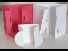 ▶ ScanCut How to make Fold back Cards - YouTube