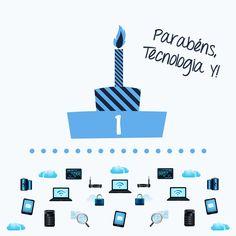 #yonos_dicas • O blog da Yonos – Tecnologia Y – está de parabéns... Ora vejam: http://tecnologiay.com/2014/06/03/parabens-tecnologia-y/