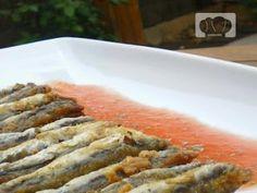 Boquerones marinados al pimentón