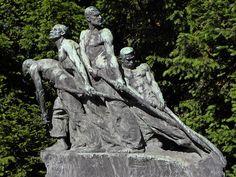 Wien - Die Unbesiegbaren - Teresa Feodorowna Ries 1900 Water Sculpture, Garden Sculpture, Art Nouveau, Yard Sculptures, Victorian Life, Fauvism, Impressionism, Vienna, Austria