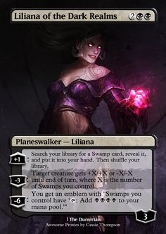 Liliana of the Dark Realms by Itsfish3 on DeviantArt
