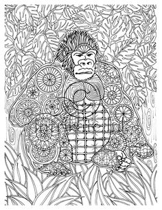 intricate coloring pages animals - as the adult colouring trend continues to grow we re