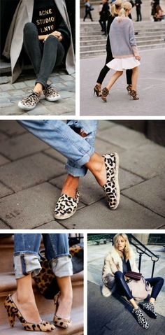 Spotted Shoes // Leopard and Lavender