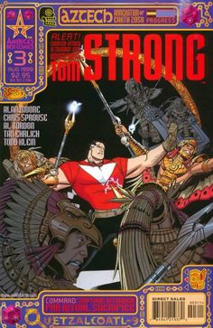 Tom Strong #2 - Return of the Modular Man (Issue)