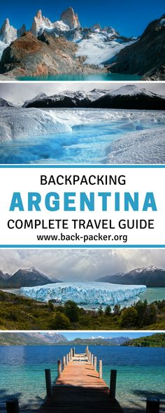 The ultimate guide to traveling and backpacking around Argentina. This Argentina travel guide contains everything you need to know before visiting the country and includes an itinerary planner, packing list, destination guide + more. Travel in South America | Back-Packer.org #Argentina #SouthAmerica
