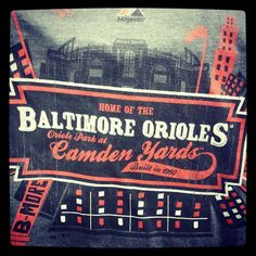 #Let'sGoO's #Baltimore @Donna Howard-Phillips Orioles