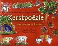 Kerstpoëzie voor peuters en kleuters.  Zeventien verhaaltjes/gedichtjes op rijm over thema's rond Kerstmis. Met kleurentekeningen. Vanaf ca. 3 t/m 7 jaar.