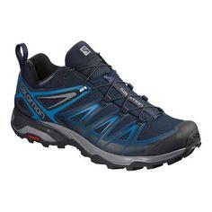 accessories for men Mens Salomon X Ultra 3 Hiking Shoe - Poseidon/Indigo Bunting/Quiet Shade Hiking Shoes Indigo, Best Hiking Shoes, Hiking Boots, Mode Masculine, Expensive Clothes, Men Hiking, Nike Shox, Top Shoes, Shoes Men