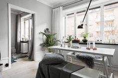 A Bright and Chic Apartment in Stockholm | Source