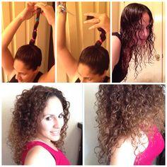 Corte de pelo con coleta alta