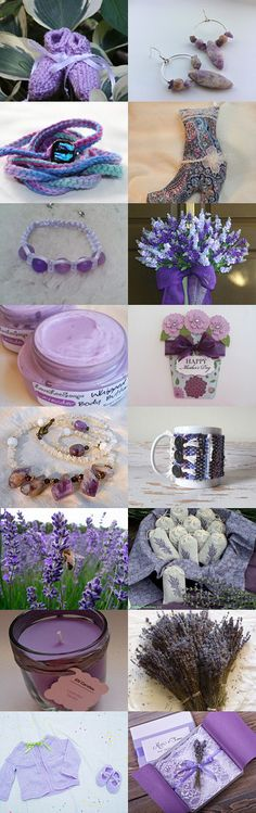 Lavender Fields~BFW Treasury by Kathy Carroll on Etsy--Pinned with TreasuryPin.com #Estyhandmade #giftideas #springfinds
