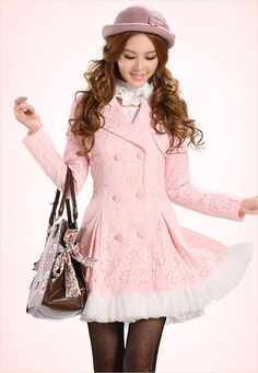 Mango Doll - Elegant Lace Coat , $84.00 (http://www.mangodoll.com/all-items/elegant-lace-coat/)