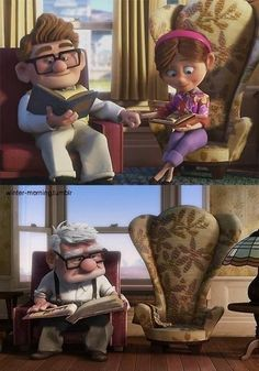 I loved the movie up!