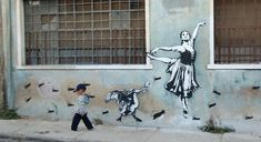 Blek Le Rat street art
