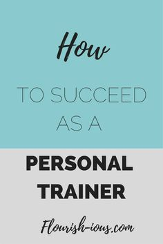 Becoming a personal trainer is the easy part. Succeeding as a personal trainer is the hard party. Use my business tips that helped me become a successful personal trainer. trainer Three Major Ways To Make Money Personal Training Personal Trainer Quotes, Becoming A Personal Trainer, Certified Personal Trainer, Personal Fitness, Physical Fitness, Female Personal Trainer, Fitness Tips, Fitness Motivation, Group Fitness