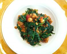 Hearty And Healthy: Vegetarian Chana Masala - The Chalkboard